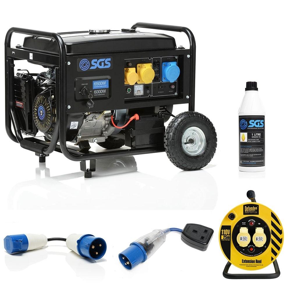 6500 w generator
