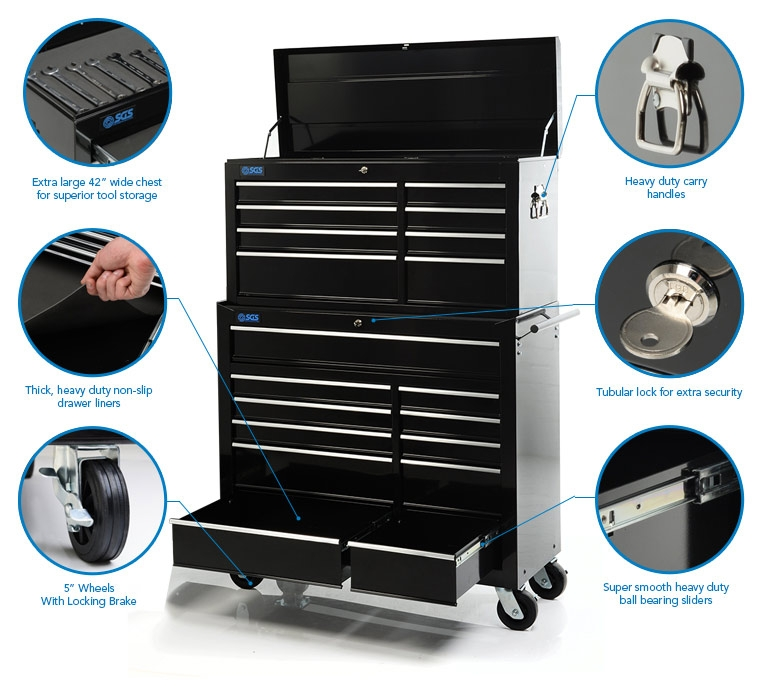 19 drawer tool chest