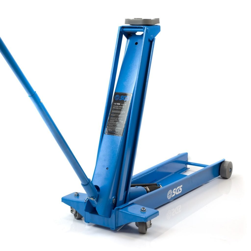 1.5 Ton Long Reach Professional Service Trolley Jack