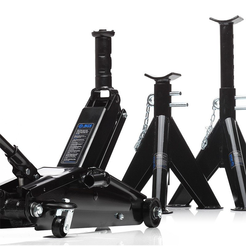 2.5 ton jack and axle stands