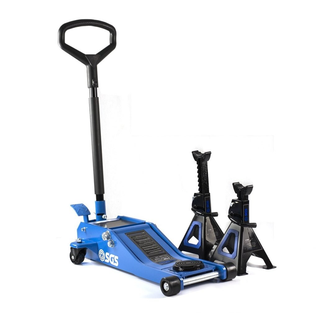 low profile jack and axle stands