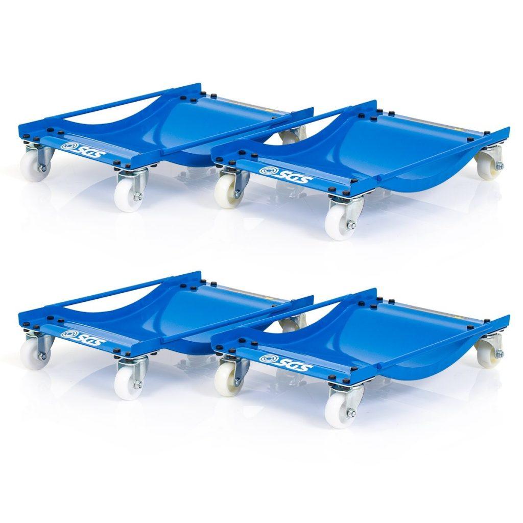 Four Pro Wheel Dollies With Nylon Wheels