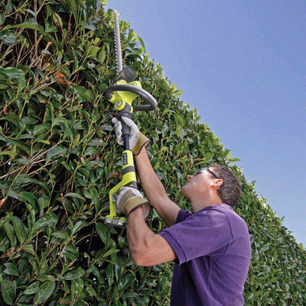 ryobi hedge trimmer
