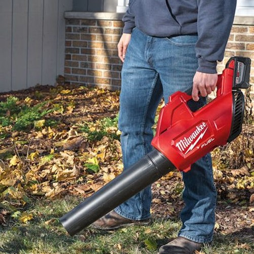 battery powered leaf blower