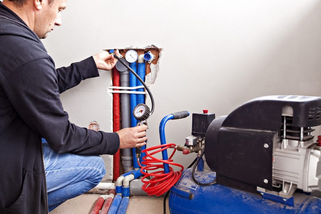 common air compressor maintenance and usage questions