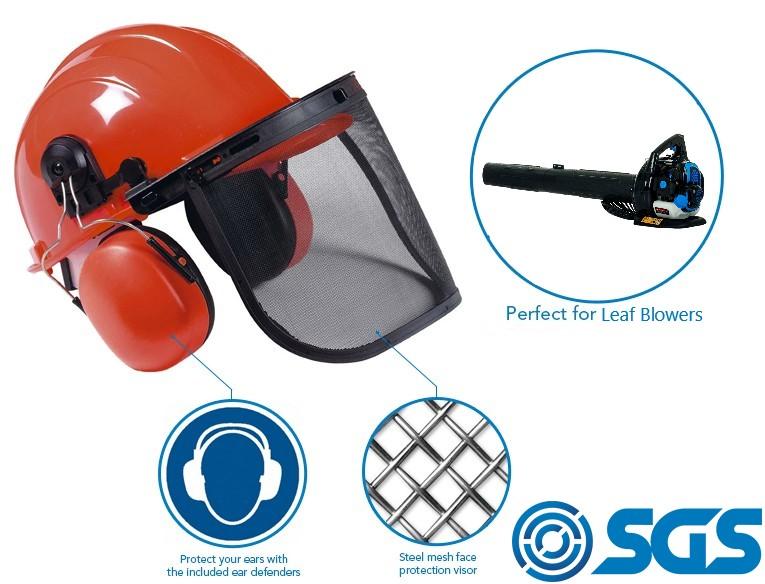 leaf blower PPE