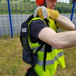 How To Fit A Strimmer Harness