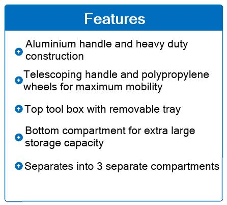 3 part tool box