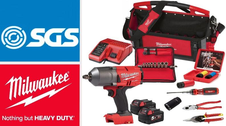 Milwaukee mechanics tool kit