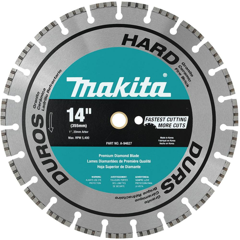 Diamond blades for angle grinders