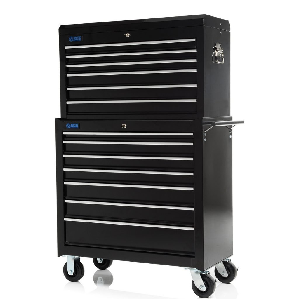 "36"" Professional 13 Drawer Tool Chest & Roller Cabinet"