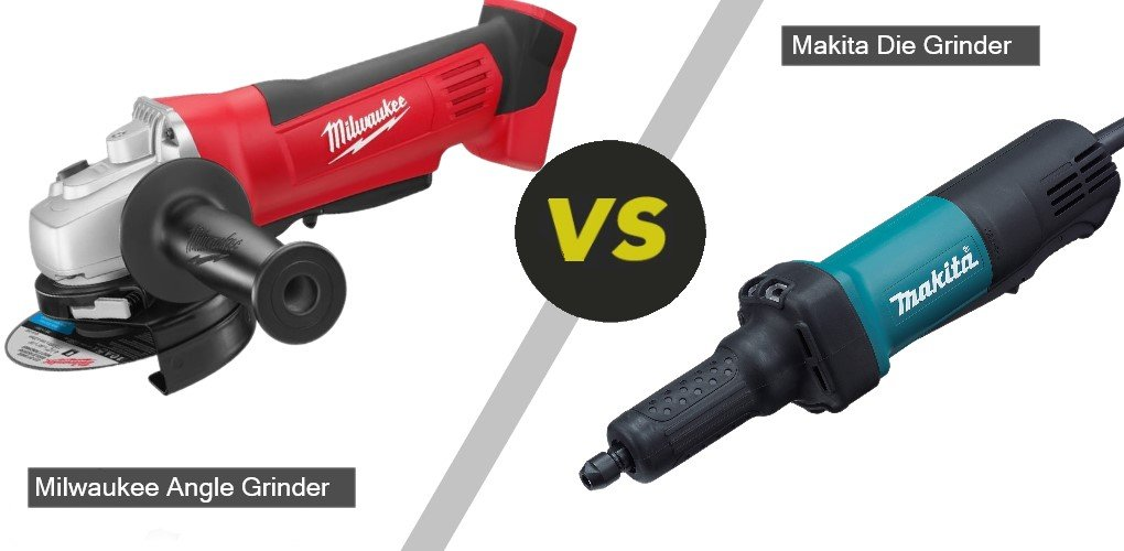 what is the different between angle grinders and die grinders