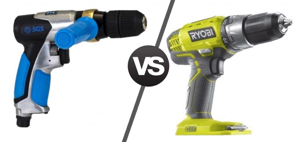 pneumatic tools vs. electric power tools