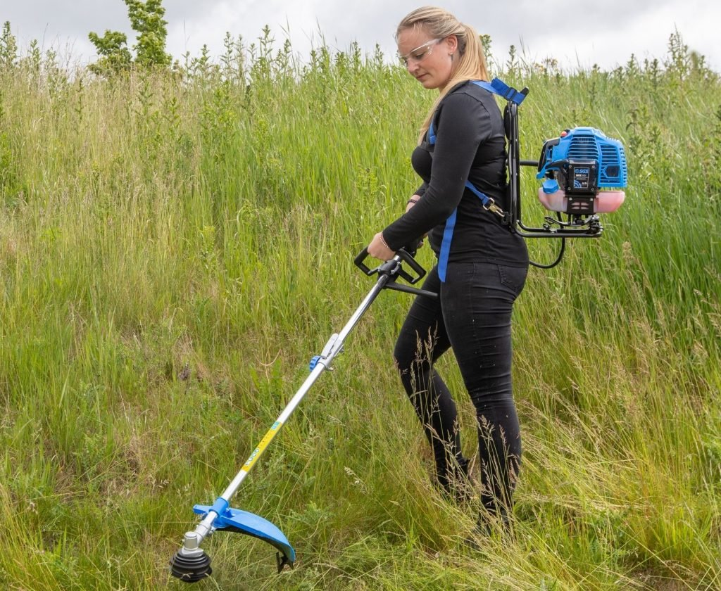 52cc backpack strimmer